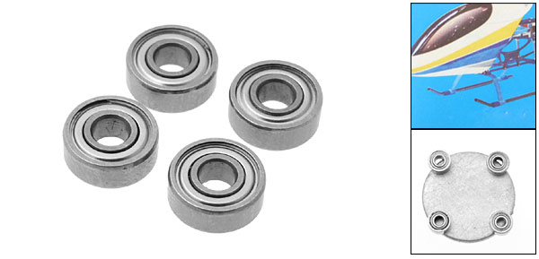 BR0205025 Bearing RC Helicopter Parts for Pigeon 450M1 and T-Rex 450
