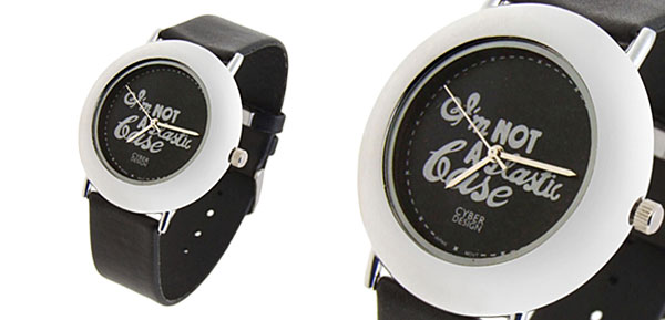 Fashion Jewelry Black Artistic Quartz Wrist Watches