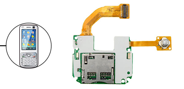 LCD Flex Cable Connector for Nokia N73