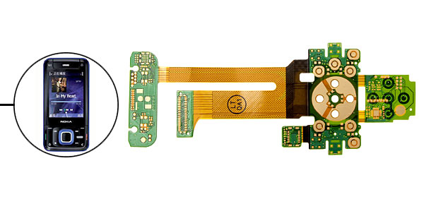 LCD Flex Cable Connector for Nokia N81