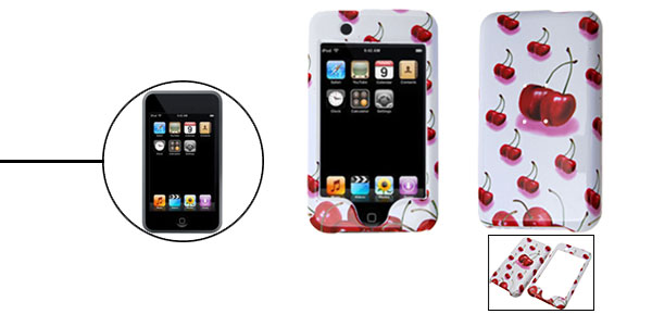 Apple Pattern Plastic Hard Case Holder for iPod Touch 1st Generation