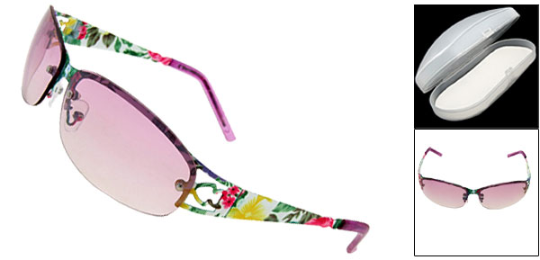 Sand Beach Purple Fashion Eyewear Lady Sunglasses