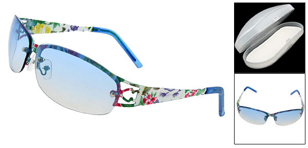 Sand Beach Eyewear Womens Blue Sunglasses
