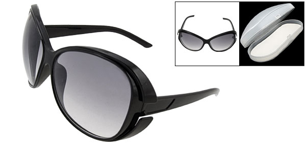 Clement Black Fashion Eyewear Lady Sunglasses