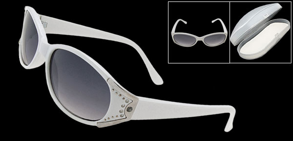 Oscar  White Fashion Eyewear Lady Sunglasses
