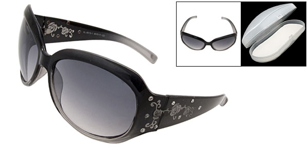Clement Full Black Fashion Eyewear Sunglasses