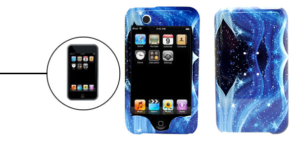 Ocean Star Plastic Case Cover for Apple iPod Touch 1st Generation