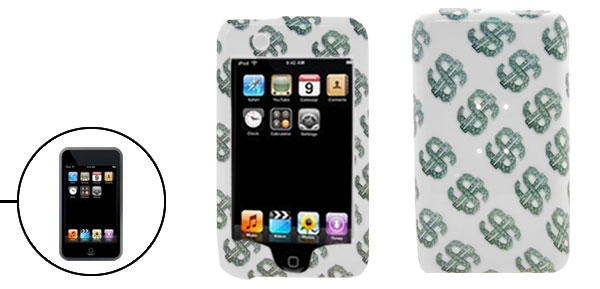 Dollar Plastic Hard Case Cover for Apple iPod Touch 1st Generation