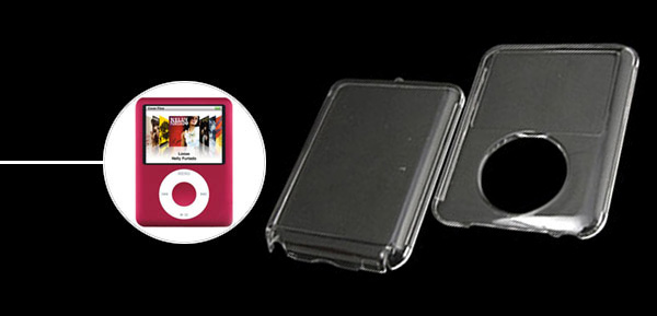 Crystal Plastic Hard Case for iPod Nano 3G
