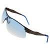 Phoebus Transparent Blue Eyewear Womens Sunglasses
