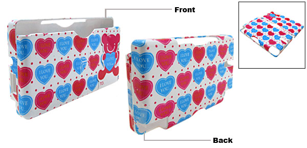 New Heart Design Nintendo DS Lite Hard Plastic Cover Case
