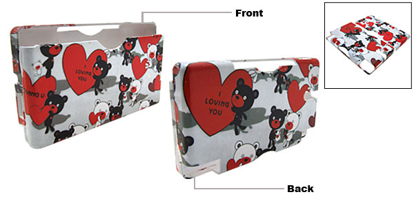 Lovey Mouse Design Nintendo DS Lite Hard Plastic Cover Case