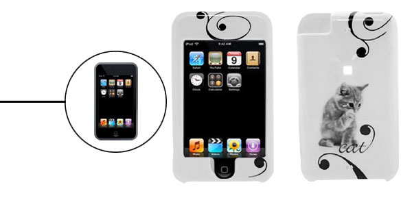 Plastic Hard Case Cover for Apple iPod Touch Cat 1st Generation