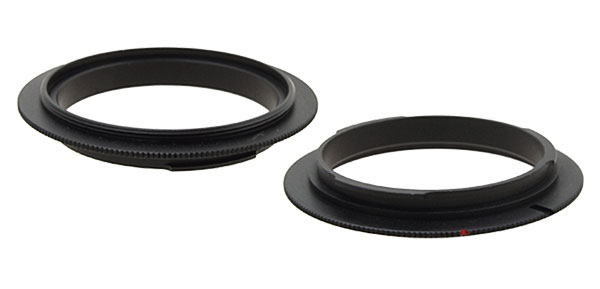 55mm Digital Camera Lens Reversal Filter Ring Mount Adapter for Canon EOS(SLR)