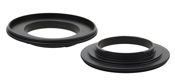 77mm Digital Camera Lens Reversal Filter Ring Mount Adapter for Canon EOS(SLR)