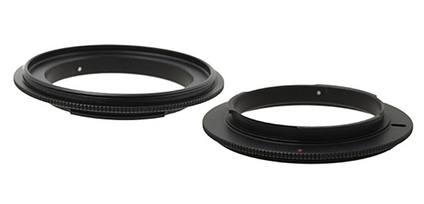 55mm Lens Reversal Filter Ring Adapter for SLR DSLR