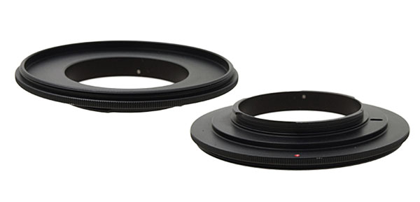 67mm Lens Reversal Filter Ring Adapter Black for SLR