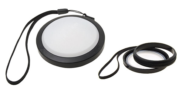 Test White Balance DC/DV Camera Lens Cap + 62mm Convert Ring