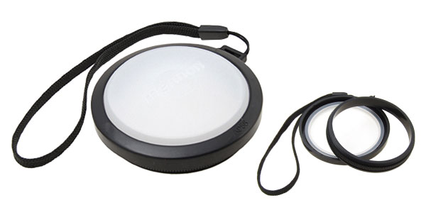 58mm Digital Camera Lens Cap with White Balance