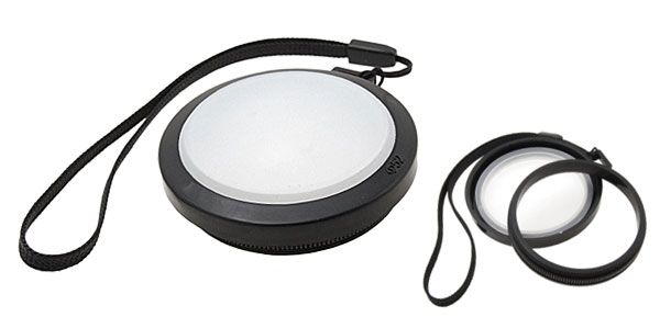 52mm Camera Lens Cap with White Balance