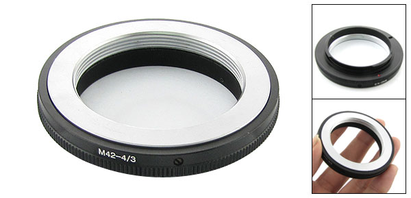 42mm Contax Yashica C/Y Lens Filter Adapter for Camera Olympus 4/3