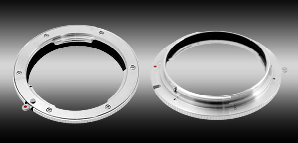 49mm  Mount Filter Adapter for Leica R Lens to Canon EOS