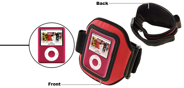 Sports Armband Case for Apple iPod Nano 3G