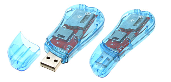 USB Memory SD TF Card Reader Writer