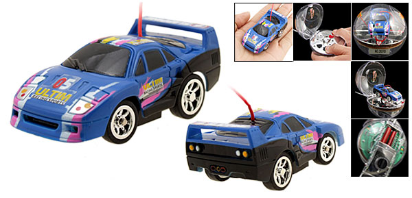 New Toy Car Racing Mini Remote Control Speed Racer Auto Blue