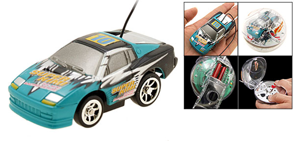 New Toy Car Racing Mini Remote Control RC Speed Racer Sky Blue