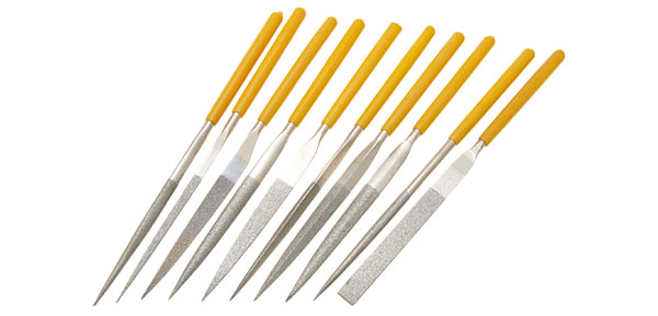 10 Pieces Diamond Files Set Handy Tool