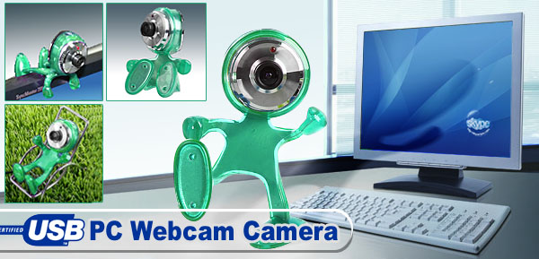 Driverless Driver Free 640 x 480 Pixel USB PC Webcam Camera