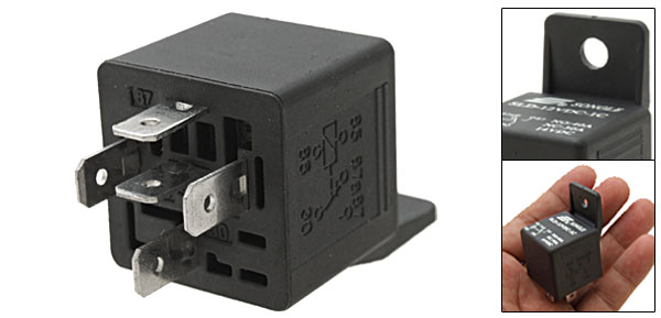 12V DC Auto Car Power Plug Relay with Bracket