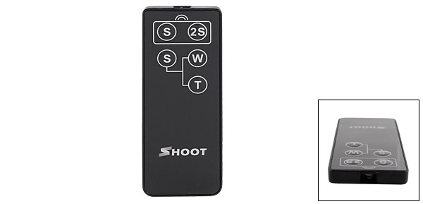 Wireless IR Infrared Camera Shutter Remote Control for Canon