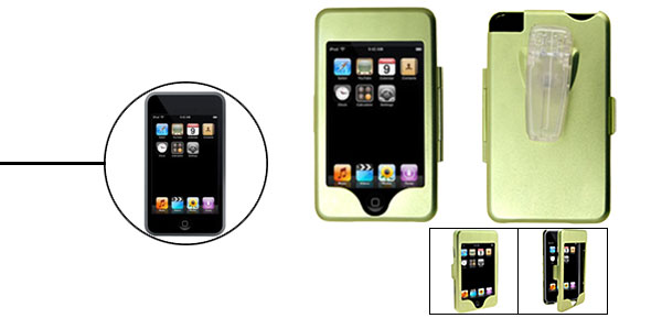Aluminium Metal Hard Case for iPod Touch Green 1st Generation