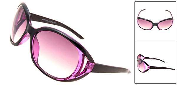 New Stylish Elegant Ladies Fashion Purple Sunglasses