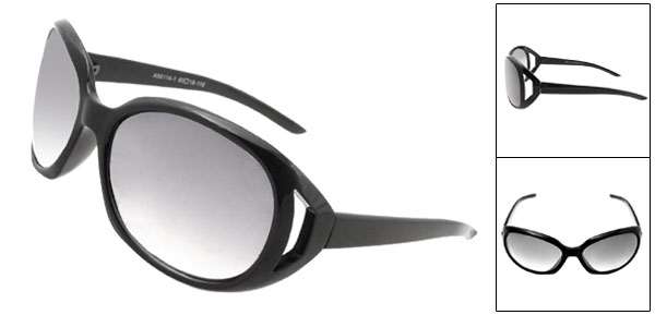 New Fashion Style Black Lens Sunglasses