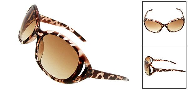 New Stylish Elegant Ladies Fashion Amber Sunglasses