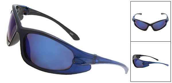 New Fashion Style Blue Lens Sunglasses