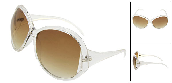Ladies Fashion New Style Amber Lens Sunglasses