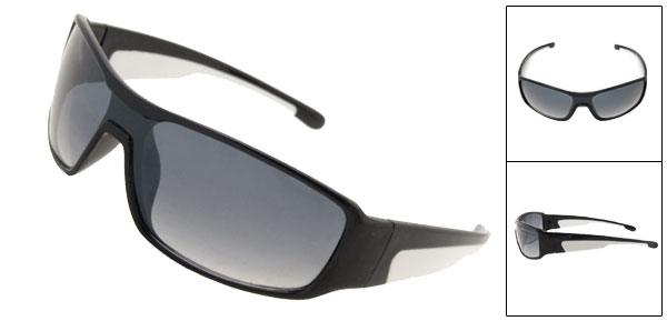 Fashion Sports Style Blue Lens  Sunglasses