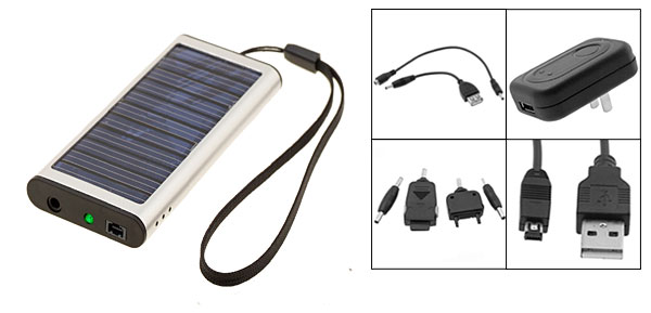 Emergency Solar Charger for Cell Phone PDA MP3 MP4