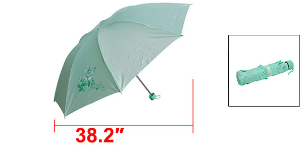 Kids Folding Canopy Rain Sun Umbrella