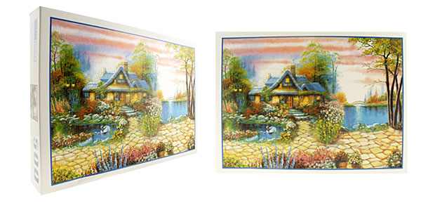Toys - Educational 500 Pieces Garden Jigsaw Puzzles