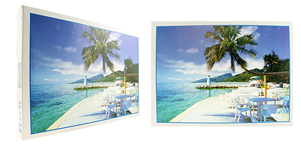 Toys 500 Pieces Tropical Island DIY Jigsaw Puzzles