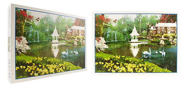 Toys - 500 Pieces Spring Flower DIY Jigsaw Puzzles