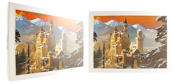 Toys - 500 Pieces Germanic Castle DIY Jigsaw Puzzles