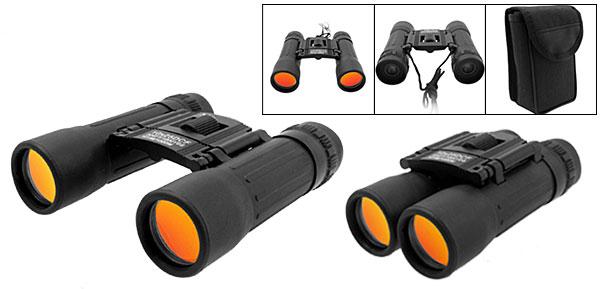 Hiking Camping 10x25 Black Binoculars Telescope
