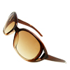 New Stylish Elegant Ladies Fashion Amber Sunglasses