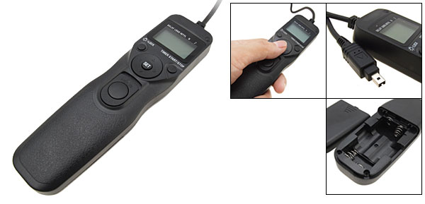 MC-N2 Camera Remote Control Shutter Release Cable for Nikon D80 D70s
